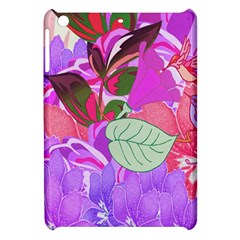 Abstract Design With Hummingbirds Apple Ipad Mini Hardshell Case by Nexatart