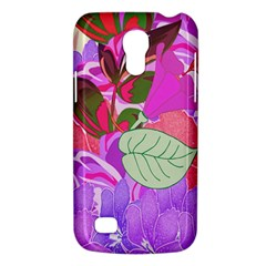 Abstract Design With Hummingbirds Galaxy S4 Mini by Nexatart
