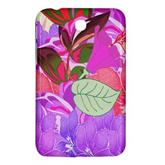 Abstract Design With Hummingbirds Samsung Galaxy Tab 3 (7 ) P3200 Hardshell Case  by Nexatart