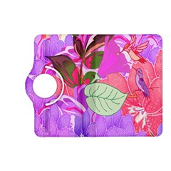 Abstract Design With Hummingbirds Kindle Fire Hd (2013) Flip 360 Case