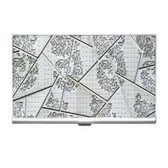 The Abstract Design On The Xuzhou Art Museum Business Card Holders by Nexatart