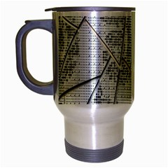 The Abstract Design On The Xuzhou Art Museum Travel Mug (silver Gray) by Nexatart