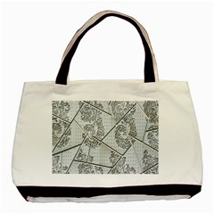 The Abstract Design On The Xuzhou Art Museum Basic Tote Bag by Nexatart