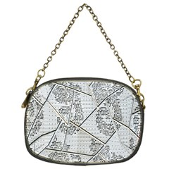 The Abstract Design On The Xuzhou Art Museum Chain Purses (one Side)