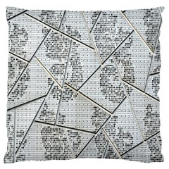 The Abstract Design On The Xuzhou Art Museum Large Cushion Case (one Side)