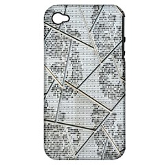 The Abstract Design On The Xuzhou Art Museum Apple Iphone 4/4s Hardshell Case (pc+silicone) by Nexatart