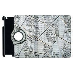 The Abstract Design On The Xuzhou Art Museum Apple Ipad 2 Flip 360 Case by Nexatart