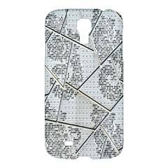 The Abstract Design On The Xuzhou Art Museum Samsung Galaxy S4 I9500/i9505 Hardshell Case by Nexatart