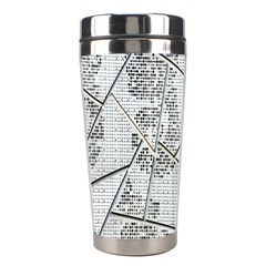 The Abstract Design On The Xuzhou Art Museum Stainless Steel Travel Tumblers