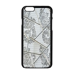 The Abstract Design On The Xuzhou Art Museum Apple Iphone 6/6s Black Enamel Case