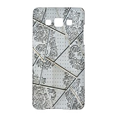 The Abstract Design On The Xuzhou Art Museum Samsung Galaxy A5 Hardshell Case