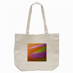 Metallic Brush Strokes Paint Abstract Texture Tote Bag (cream) by Nexatart