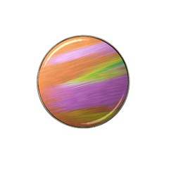 Metallic Brush Strokes Paint Abstract Texture Hat Clip Ball Marker by Nexatart