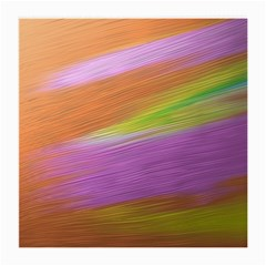 Metallic Brush Strokes Paint Abstract Texture Medium Glasses Cloth (2 Side)