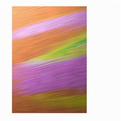 Metallic Brush Strokes Paint Abstract Texture Large Garden Flag (two Sides) by Nexatart