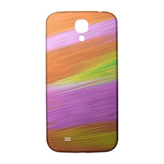 Metallic Brush Strokes Paint Abstract Texture Samsung Galaxy S4 I9500/i9505  Hardshell Back Case