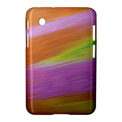 Metallic Brush Strokes Paint Abstract Texture Samsung Galaxy Tab 2 (7 ) P3100 Hardshell Case  by Nexatart
