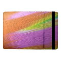Metallic Brush Strokes Paint Abstract Texture Samsung Galaxy Tab Pro 10 1  Flip Case by Nexatart