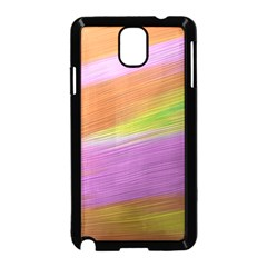 Metallic Brush Strokes Paint Abstract Texture Samsung Galaxy Note 3 Neo Hardshell Case (black)