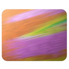 Metallic Brush Strokes Paint Abstract Texture Double Sided Flano Blanket (medium)  by Nexatart