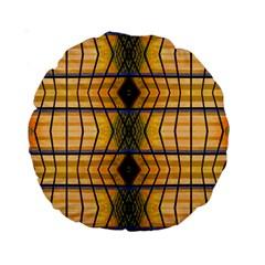 Light Steps Abstract Standard 15  Premium Round Cushions by Nexatart