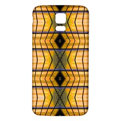 Light Steps Abstract Samsung Galaxy S5 Back Case (white)