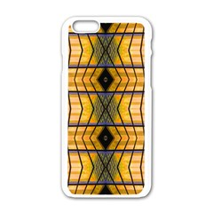 Light Steps Abstract Apple Iphone 6/6s White Enamel Case by Nexatart