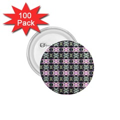 Colorful Pixelation Repeat Pattern 1 75  Buttons (100 Pack)  by Nexatart