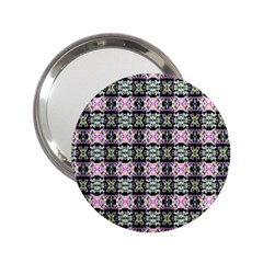 Colorful Pixelation Repeat Pattern 2 25  Handbag Mirrors