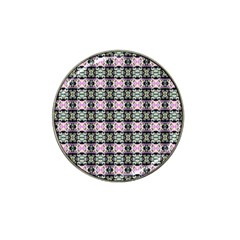Colorful Pixelation Repeat Pattern Hat Clip Ball Marker (10 Pack) by Nexatart