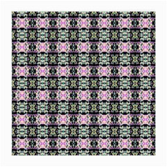 Colorful Pixelation Repeat Pattern Medium Glasses Cloth (2 Side) by Nexatart
