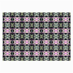 Colorful Pixelation Repeat Pattern Large Glasses Cloth by Nexatart