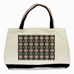 Colorful Pixelation Repeat Pattern Basic Tote Bag (two Sides) by Nexatart