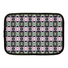 Colorful Pixelation Repeat Pattern Netbook Case (medium)  by Nexatart