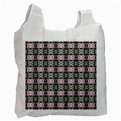Colorful Pixelation Repeat Pattern Recycle Bag (two Side)  by Nexatart