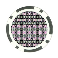 Colorful Pixelation Repeat Pattern Poker Chip Card Guard (10 Pack) by Nexatart