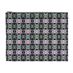 Colorful Pixelation Repeat Pattern Cosmetic Bag (xl) by Nexatart
