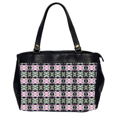 Colorful Pixelation Repeat Pattern Office Handbags (2 Sides)