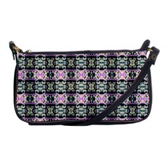 Colorful Pixelation Repeat Pattern Shoulder Clutch Bags by Nexatart