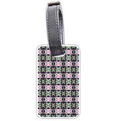 Colorful Pixelation Repeat Pattern Luggage Tags (one Side)  by Nexatart