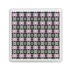 Colorful Pixelation Repeat Pattern Memory Card Reader (square)  by Nexatart