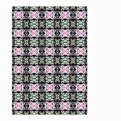 Colorful Pixelation Repeat Pattern Small Garden Flag (two Sides) by Nexatart