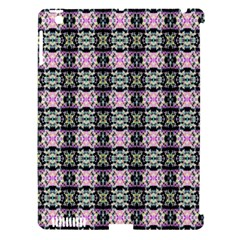 Colorful Pixelation Repeat Pattern Apple Ipad 3/4 Hardshell Case (compatible With Smart Cover)