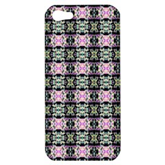 Colorful Pixelation Repeat Pattern Apple Iphone 5 Hardshell Case by Nexatart