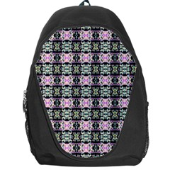 Colorful Pixelation Repeat Pattern Backpack Bag by Nexatart