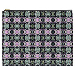 Colorful Pixelation Repeat Pattern Cosmetic Bag (xxxl)  by Nexatart