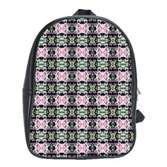 Colorful Pixelation Repeat Pattern School Bags (xl)  by Nexatart