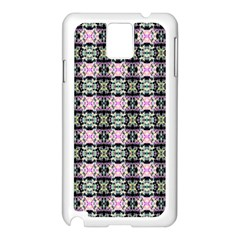 Colorful Pixelation Repeat Pattern Samsung Galaxy Note 3 N9005 Case (white) by Nexatart