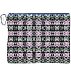 Colorful Pixelation Repeat Pattern Canvas Cosmetic Bag (xxxl) by Nexatart