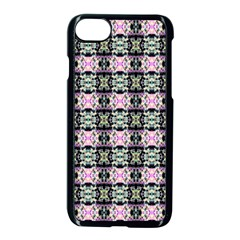 Colorful Pixelation Repeat Pattern Apple Iphone 7 Seamless Case (black) by Nexatart